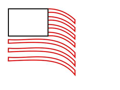 how to draw the spanish flag step by step
