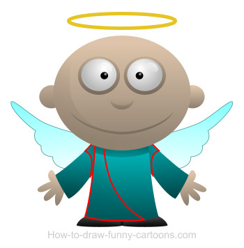 Angel cartoon