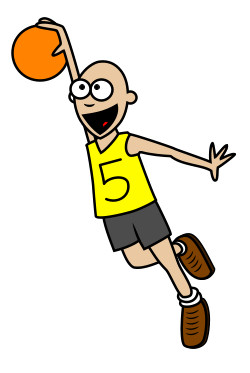 cartoon basketball playerBasketball Cartoon