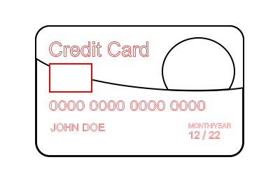 cartoon credit card