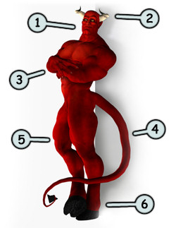 This Lesson Will Help You Learn How To Draw A Hot Devil