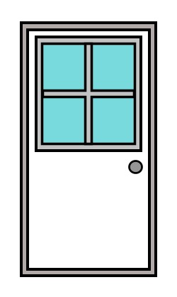 cartoon-door  sc 1 st  How to draw funny cartoons. Simple guide to improve your drawing skills. & Drawing a cartoon door