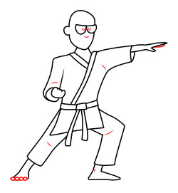 cartoon-karate
