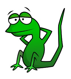 Cartoon Lizard