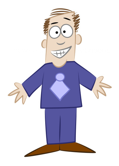 Cartoon man