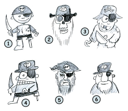 Go back from How to draw cartoon pirates to home page