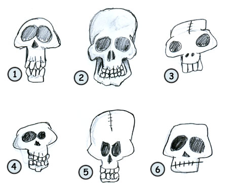 Back From How Draw Cartoon Skulls Home Page