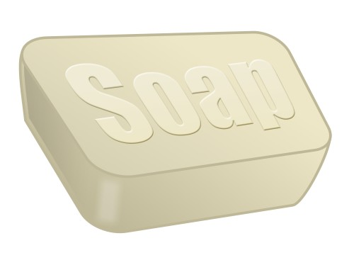 Cartoon soap