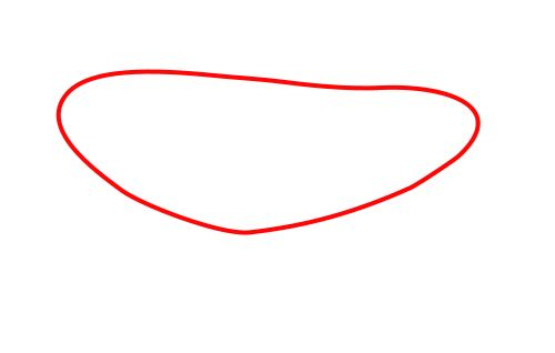 how to draw oval shape