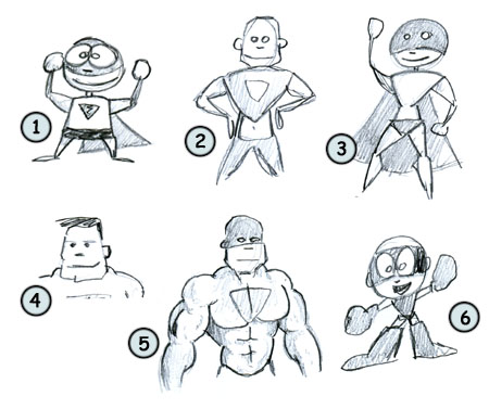 Cartoon Hero Drawing How to Draw Cartoon Superheros