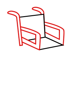 chair drawing easy. chair drawing easy i