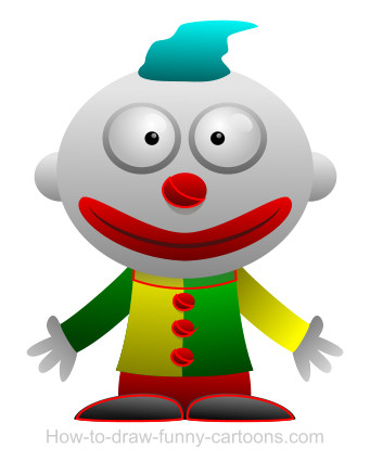 Clown cartoon