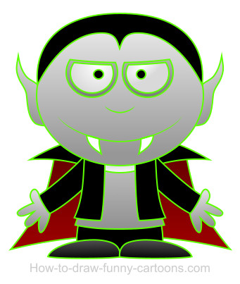 Dracula cartoon