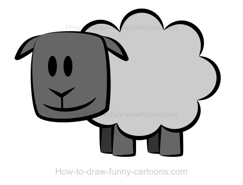 Drawing A Sheep