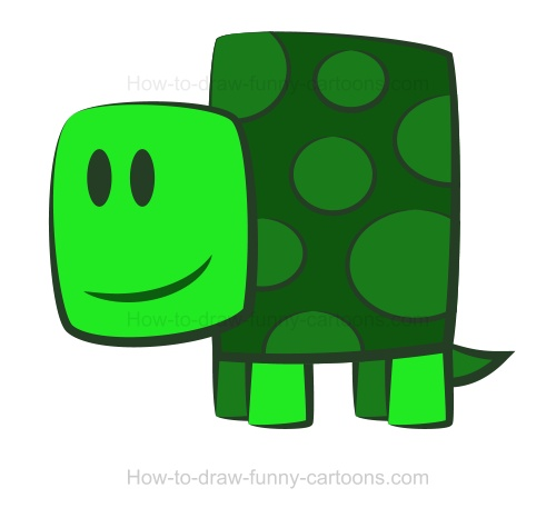 easy draw turtle - photo #33