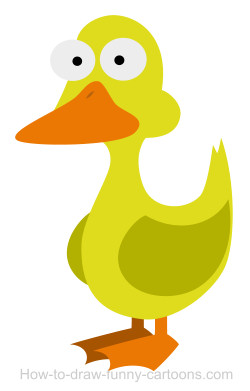how to draw anthro duck