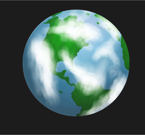 Earth Drawing Cartoon Painting