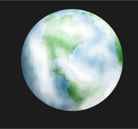 Earth drawing