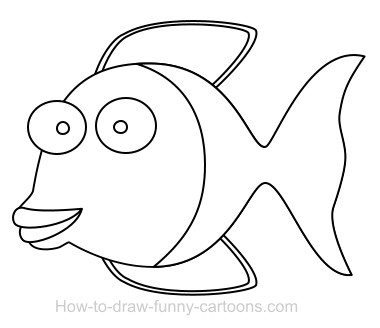 Drawing A Fish Cartoon