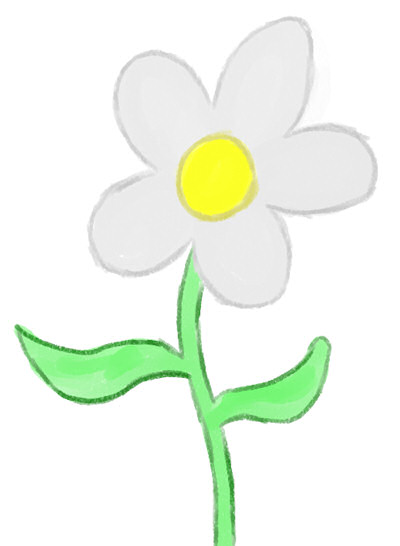 Creating a smooth flower outline flower outline mightylinksfo