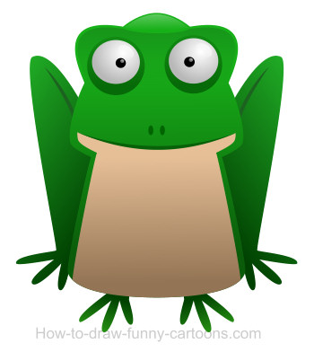 Frog cartoon