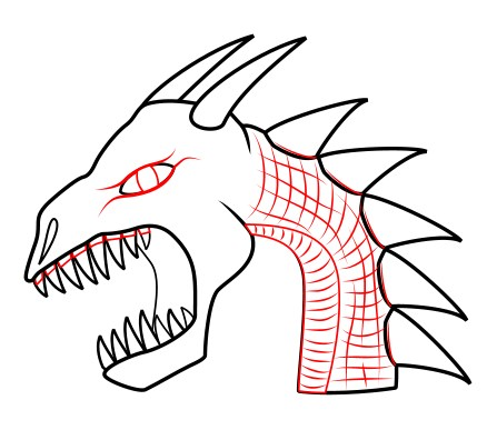 How To Draw A Dragon Head your character s head by