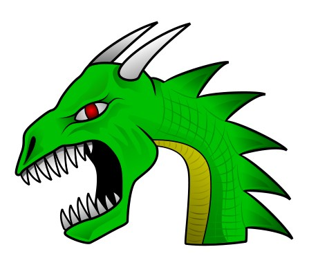 How To Draw A Dragon Dragon S Head