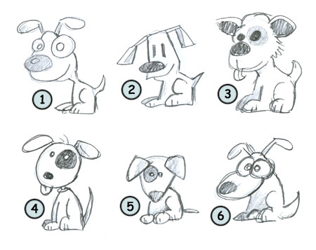 Go back from How to draw cartoon puppies to home page
