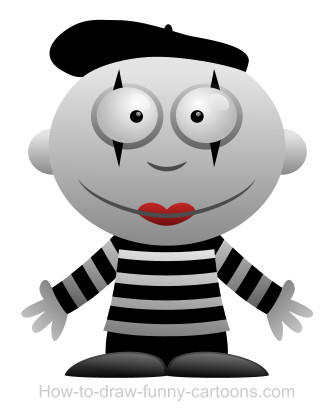 mime cartoon