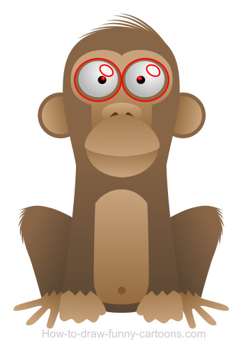 monkey cartoon