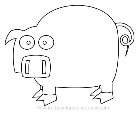 pig cartoon