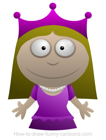 Princess cartoon