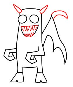 Cartoon demon