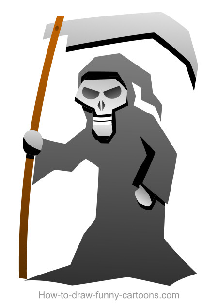 Cartoon reaper