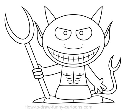 Devil cartoon