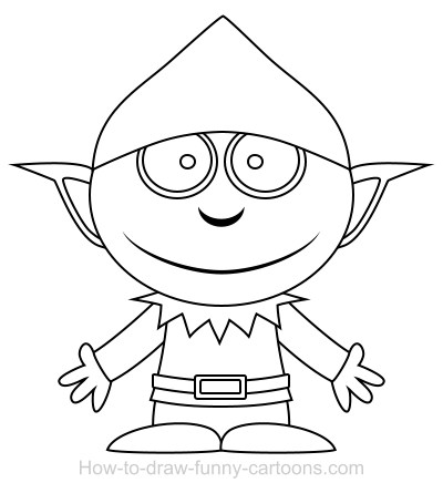 Elf On The Shelf Reindeer Coloring Pages