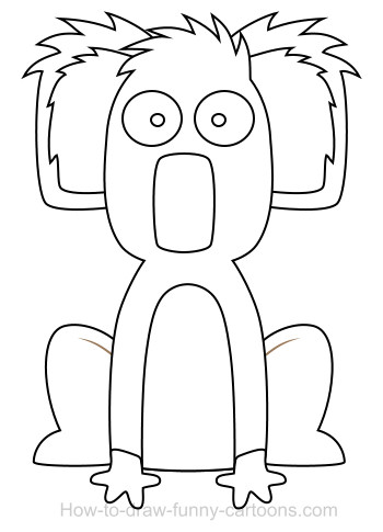koala cartoon
