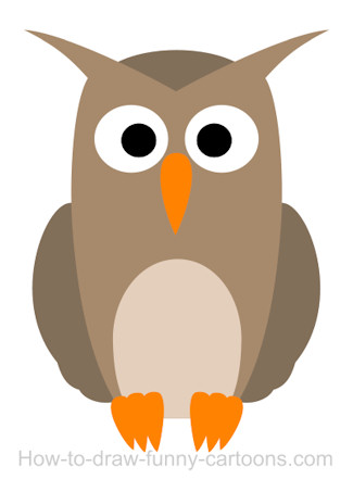 Owl cartoon