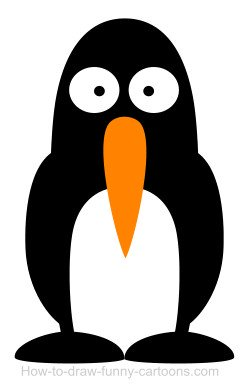 Penguin cartoon
