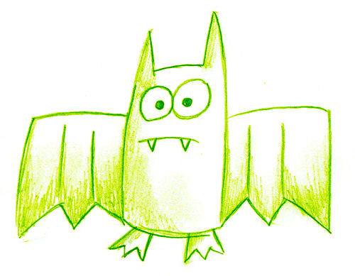 Bat drawings