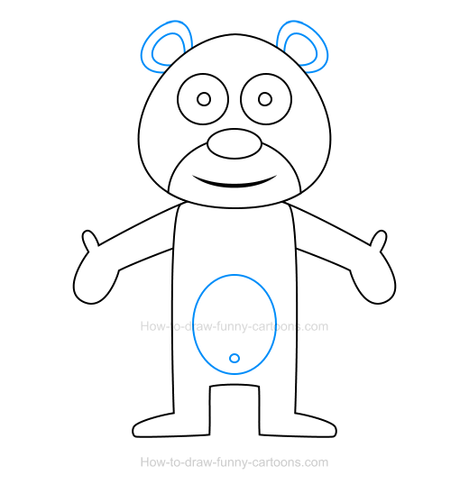 How To Draw A Bear Icon