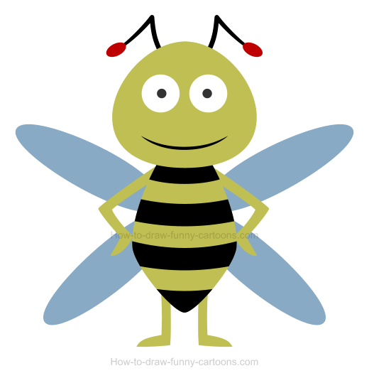 How To Draw A Bee Icon