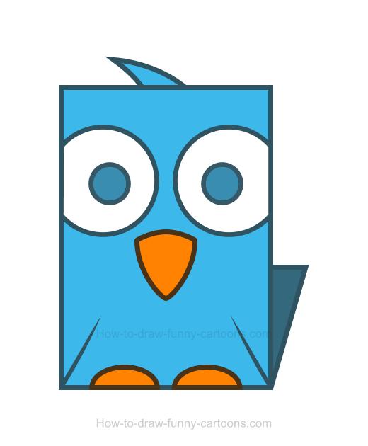 How to Draw a Bird Clipart