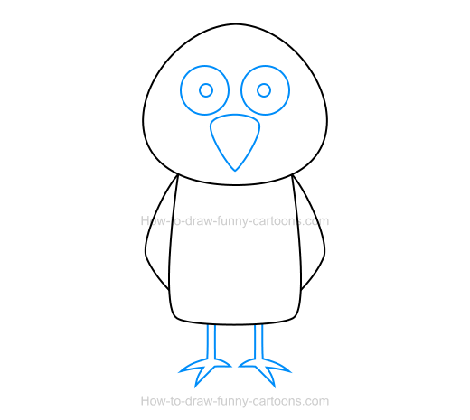How To Draw A Bird Icon