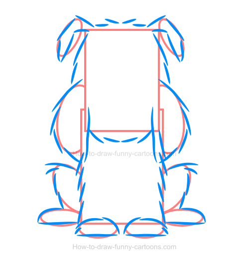 How to create a simple bulldog illustration