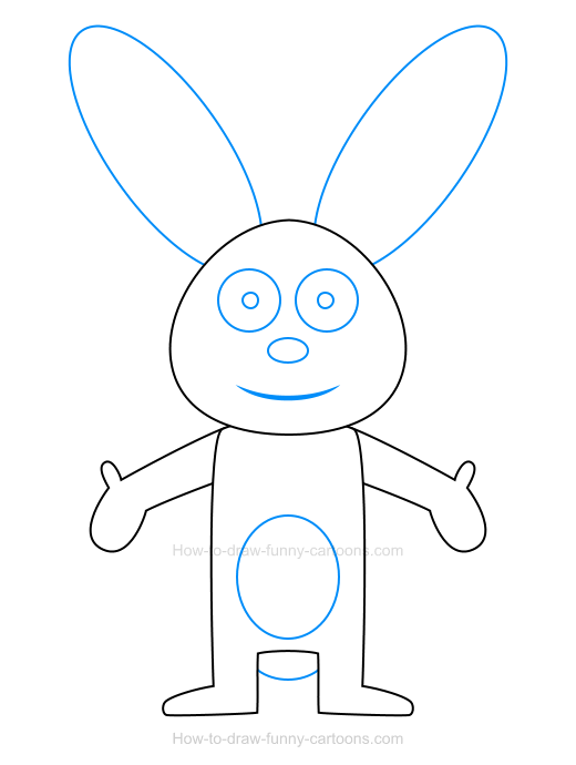 How to draw a bunny icon