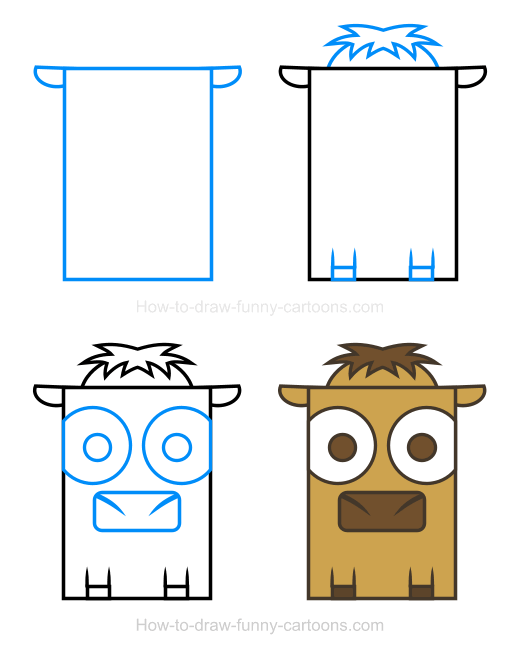 How to Draw a Camel Clipart