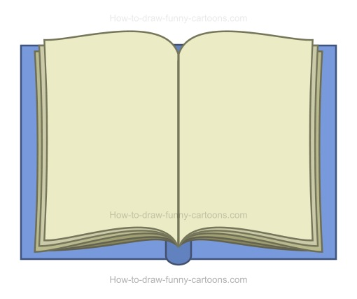 How to Draw A Cartoon Book