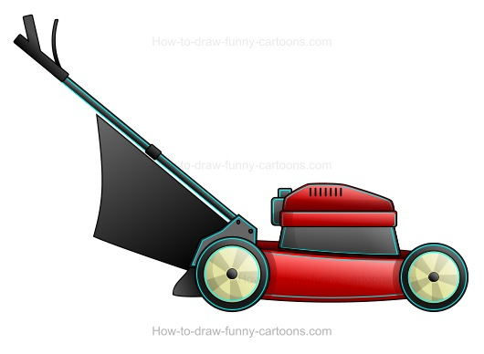 Cartoon Lawn Mower