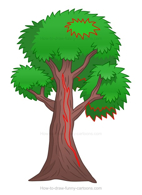How To Draw A Cartoon Tree Affordable and search from millions of royalty free images, photos and vectors. how to draw a cartoon tree